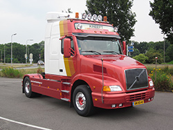 Pretles in een Volvo NH